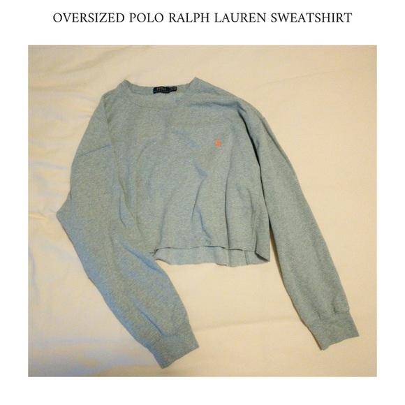 Polo by Ralph Lauren Sweaters - Cropped Polo Sweatshirt